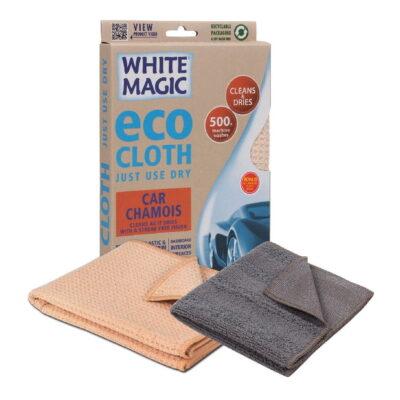 Eco Cloth Car Chamois with Bonus Cloth