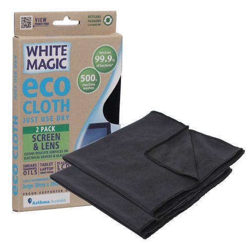 eco cloth screen and lens