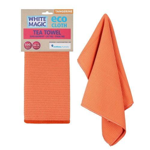 Tea Towel Tangerine