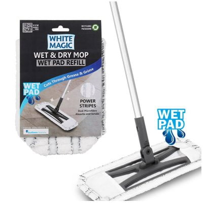 Wet and Dry Mop Wet Pad