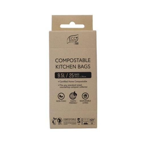 Eco Basics Compostable Kitchen Bags