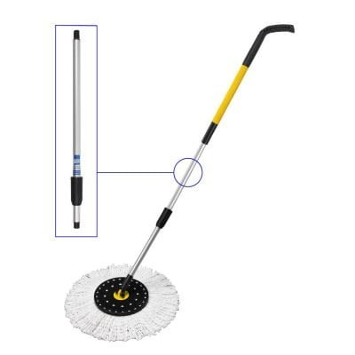 Profession Spin Mop Handle Second Section