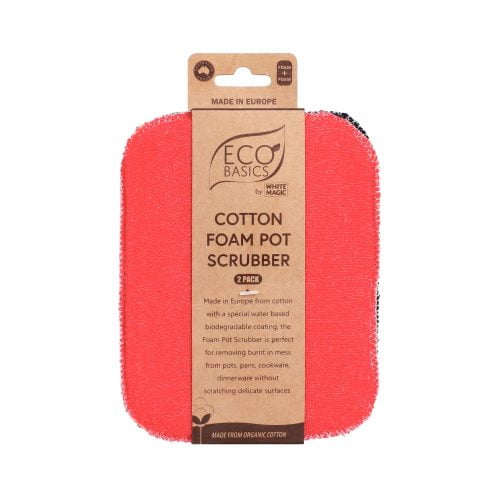 Eco Basics Cotton Foam Pot Scrubber